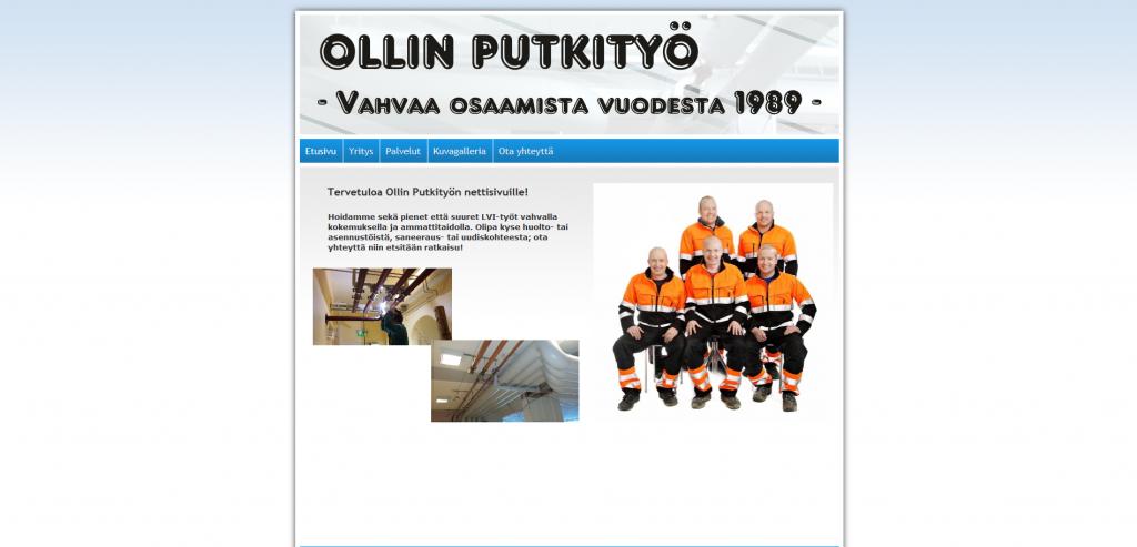 Ollin_Putkityö_Ay_Vahvaa_osaamista_vuodesta_1989_-_2015-06-26_14.49.33